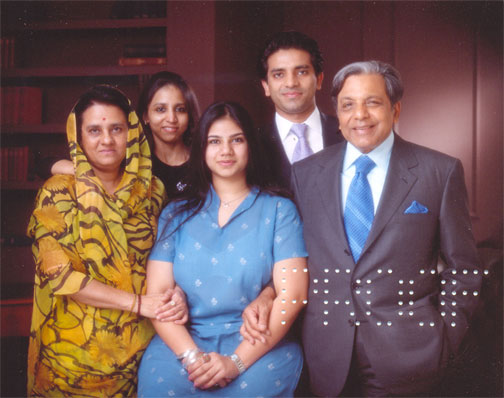 Mr. N. K. Singh & Family