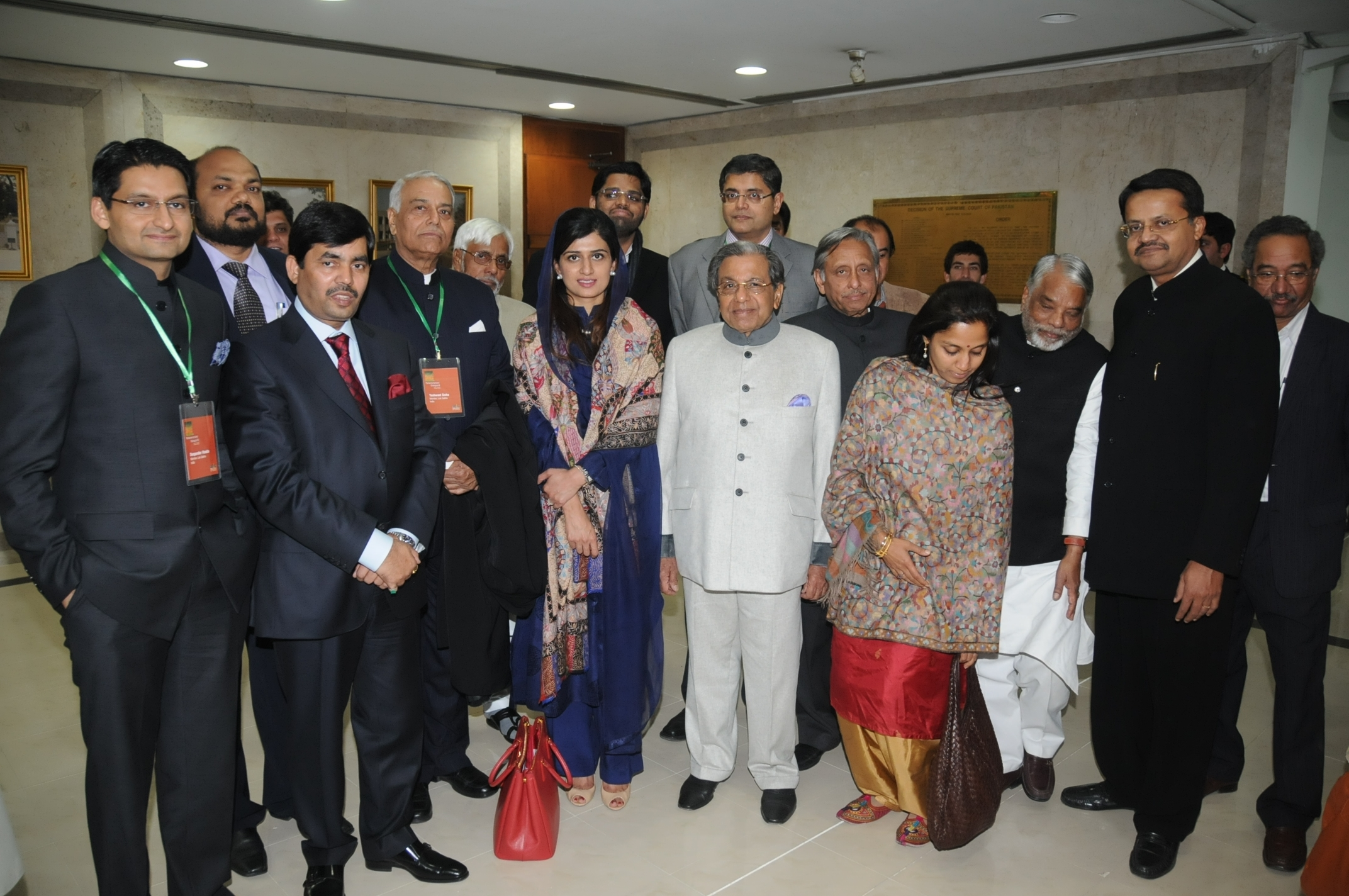 Pakistan-India Parliamentarians Dialogue, January 2012